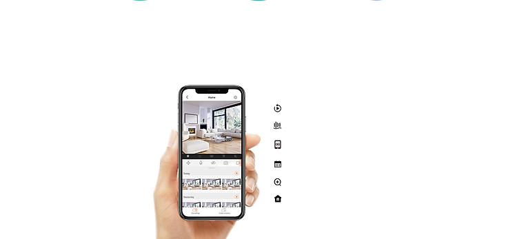 Camera Wifi - Camera Ip Trong Nhà EZVIZ C6N 1080P - Đàm Thoại 2 Chiều - Xoay 360 Độ Theo Chuyển Động - Hàng nhập khẩu 5