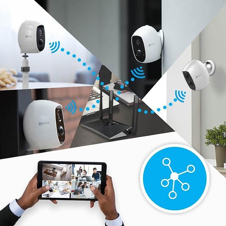 Camera IP Wifi ngoài trời EZVIZ C3A FHD 1080P - Dùng Pin Sạc - đàm thoại 2 chiều - hàng chính hãng 8