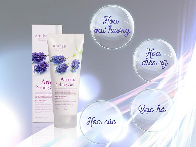 Kem Tẩy Tế Bào Chết Và Dưỡng Ẩm Da Arrahan Pure Natural Clean Care Aroma Peeling  Gel 180ml - Tẩy tế bào chết | MyPhamTrucXinh.com