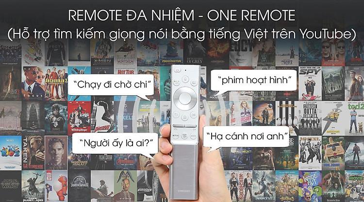 One remote-Smart Tivi QLED Samsung 8K 82 inch QA82Q800T