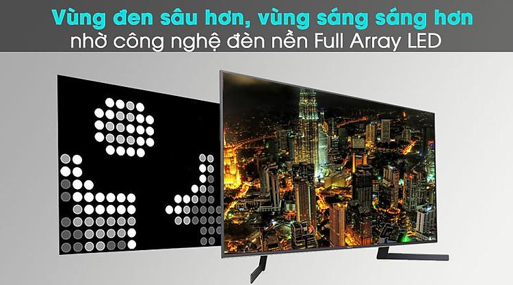 Android Tivi Sony 4K 49 inch KD-49X9500H - Full Array LED và X-tended Dynamic Range PRO