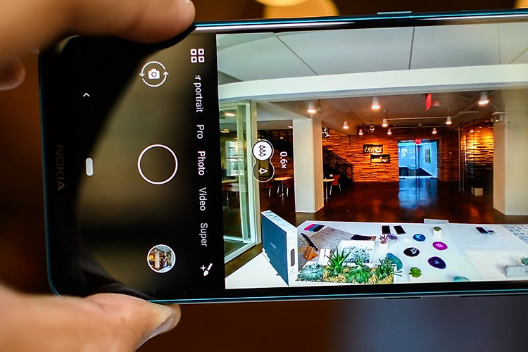 Điện thoại Nokia 7.2 | Camera sau