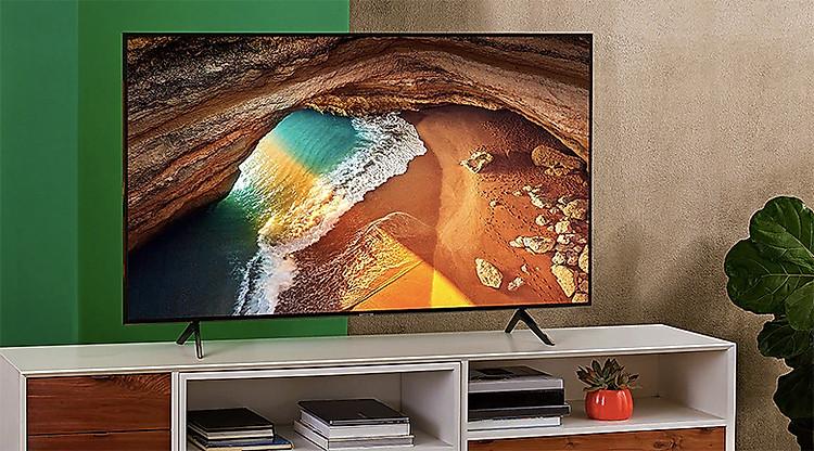 Smart Tivi QLED Samsung 4K 55 inch QA55Q65R - thiết kế