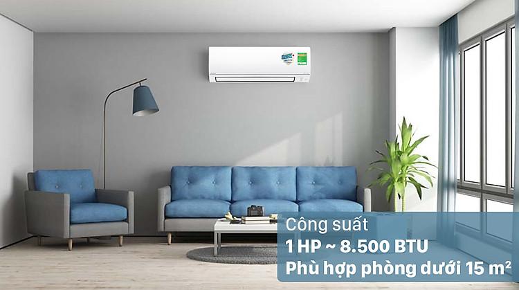 Máy lạnh 2 chiều Daikin Inverter 1 HP FTHF25VAVMV - Công suất 1 HP