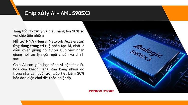 FPT Play Box S 2021 Chính hãng FPT Telecom (Mã T590) Kết hợp Tivi Box và Loa thông minh 11