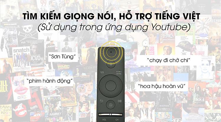 Smart Tivi Samsung 4K 55 inch UA55TU8500 - One Remote