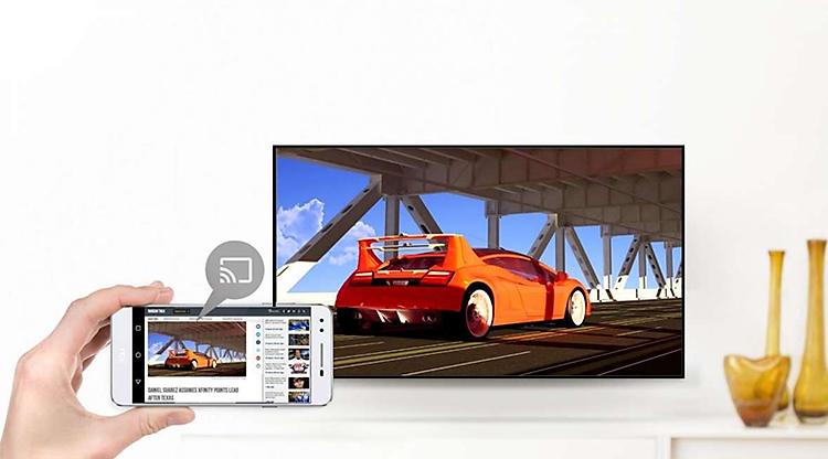 Android Tivi TCL 43 inch L43S5200 - Chiếu màn hình