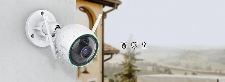 Camera IP Wifi ngoài trời EZVIZ C3N 1080P - ban đêm có màu - hổ trợ thẻ nhớ lên đến 256G - hàng nhập khẩu 9