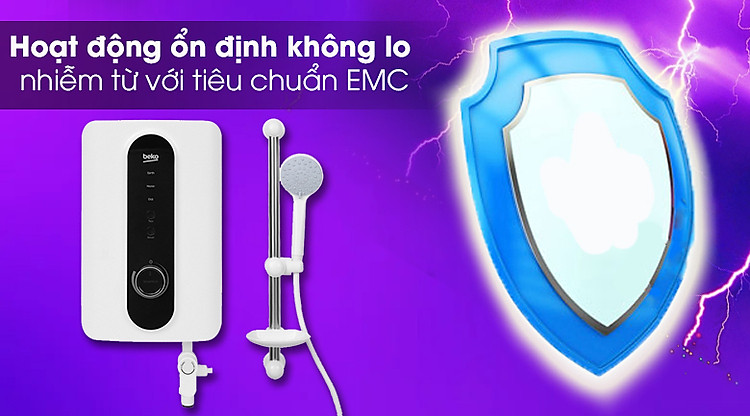 Máy nước nóng Beko BWI45S2N-213 4500W - Tương thích điện từ EMC