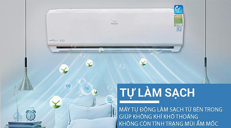 X-Fan - Máy lạnh Electrolux Inverter 1.5 HP ESV12CRO-A1