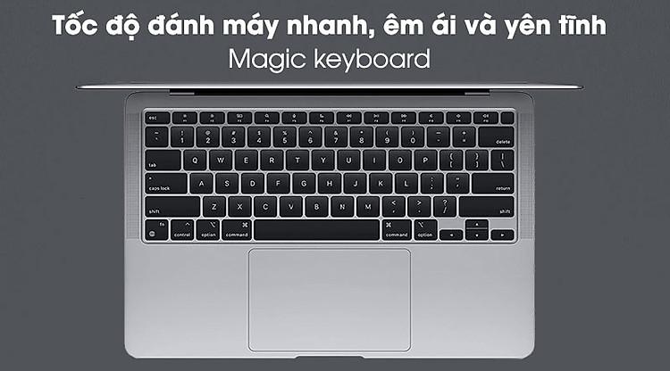 Apple Macbook Air M1 (MGN73SA/A) - Bàn phím