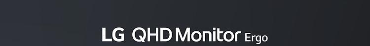 LG QHD Monitor Ergo