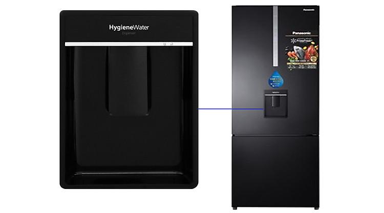 Khay lấy nước ngoài Tủ lạnh Panasonic Inverter 410 lít NR-BX460WKVN