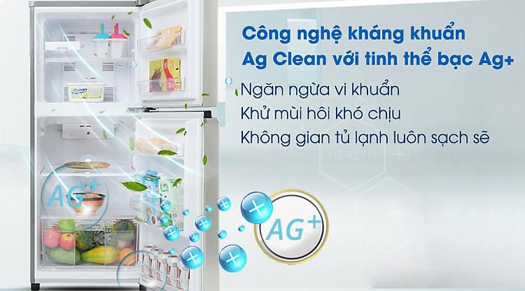 Công nghệ Ag Clean - Tủ lạnh Panasonic Inverter 167 lít NR-BA189PPVN