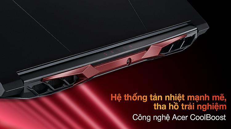 Acer Nitro 5 Gaming AN515 57 50FT i5 11400H (NH.QD8SV.003) - Tản nhiệt