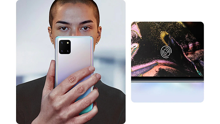 bảo mật Samsung Galaxy Note10 Lite