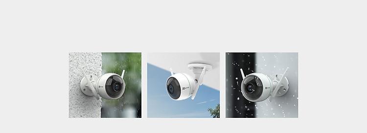 Camera IP Wifi ngoài trời EZVIZ C3WN 1080P - hổ trợ thẻ nhớ lên đến 256G - hàng nhập khẩu 4