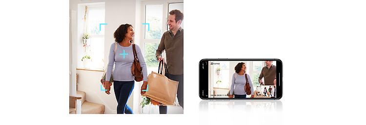 Camera IP - Camera Wifi EZVIZ C6W 4Mp ( Độ phân giải 2K ) - Đàm Thoại 2 Chiều - Theo Chuyển Động Thông Minh - Hàng chính hãng 2