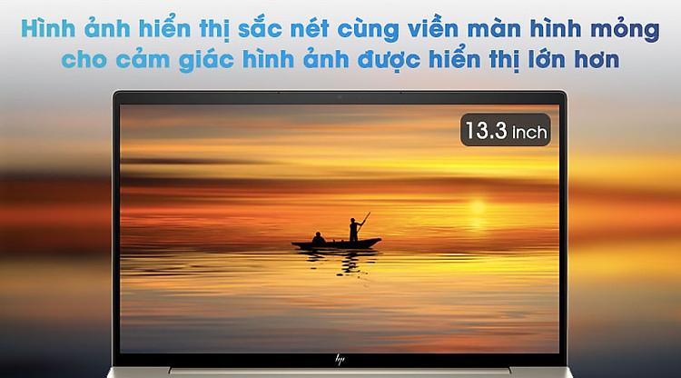 Laptop HP Envy 13 ba1027TU i5 1135G7/8GB/256GB/Office H&S2019/Win10 (2K0B1PA) - Hình ảnh sắc nét, âm thanh tuyệt hảo