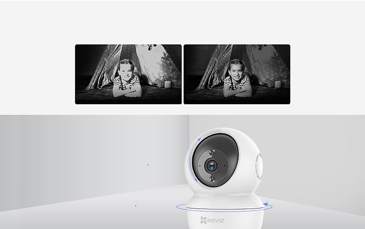 Camera IP Wifi Ezviz C6N 1080p-Hàng Chính Hãng Tặng thẻ nhớ 32Gb