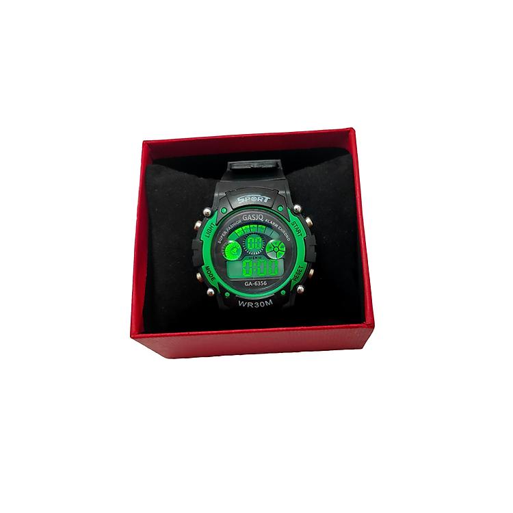 Đồng hồ trẻ em_ Tặng bộ lắp ghép mô hình 7