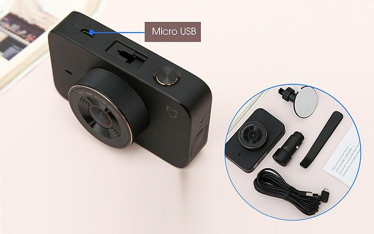 Sử dụng đơn giản - Camera Hành Trình 1080P Xiaomi Mi Dash Cam 1S Đen