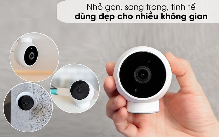 Dùng đẹp cho nhiều không gian - Camera IP 1080P Xiaomi Mi Home Magnetic Mount QDJ4065GL Trắng