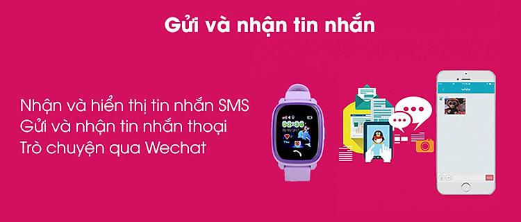 đồng hồ định vị gửi tin nhắn wonlex GW400S