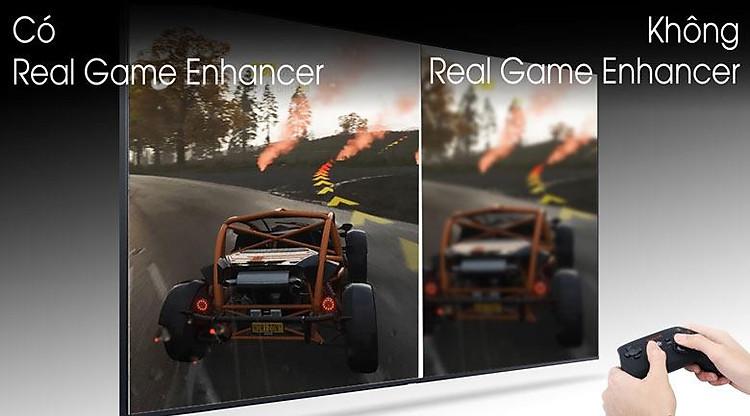 Real game Enhancer-Smart Tivi QLED Samsung 4K 85 inch QA85Q80T
