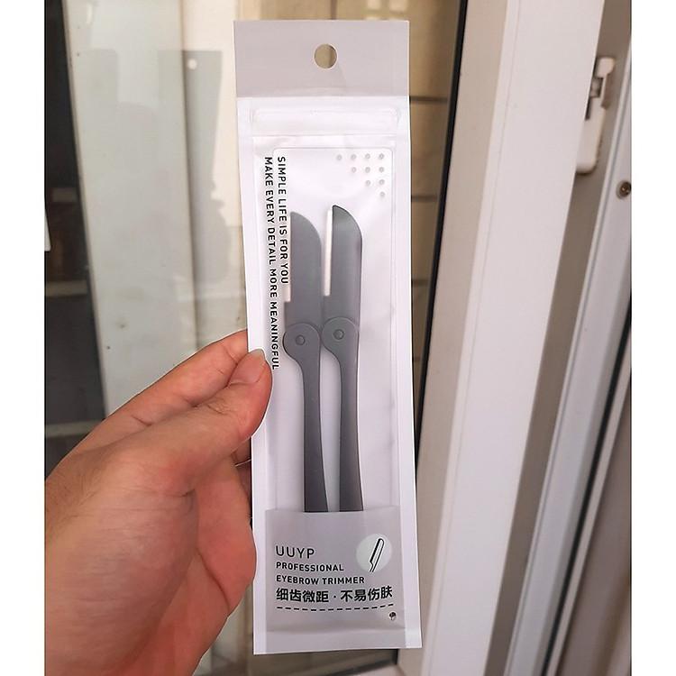 Bộ 2 dao cạo tỉa lông mày Eyebrow Trimmer - Đen 3