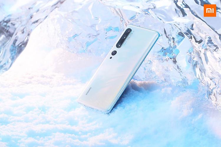 Mi Note 10 Pro với 5 camera ở mặt sau, camera chính lên đến 108MP
