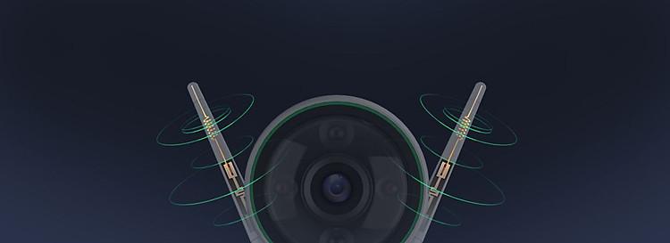 Camera IP Wifi ngoài trời EZVIZ C3N 1080P - ban đêm có màu - hổ trợ thẻ nhớ lên đến 256G - hàng nhập khẩu 6