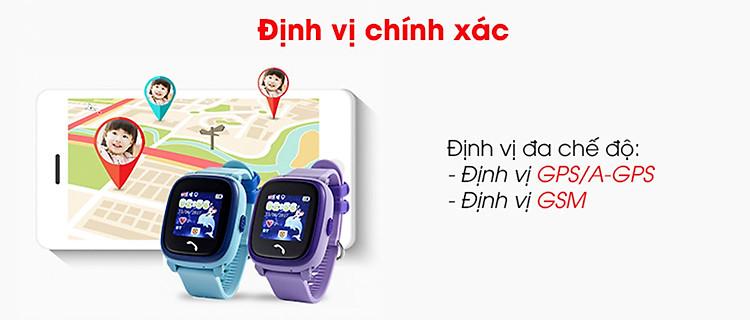 Đồng hồ định vị Wonlex GW400S định vị chính xác