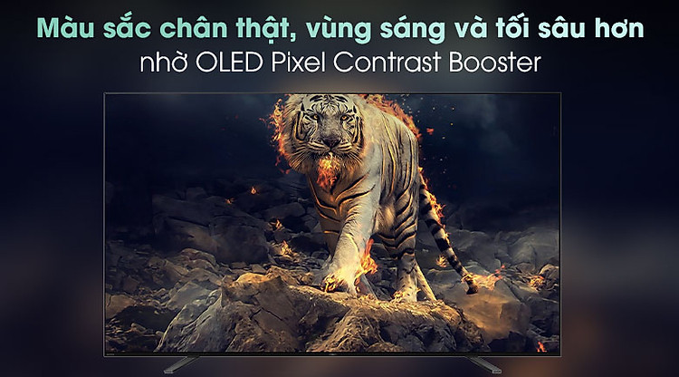 Android Tivi OLED Sony 4K 65 inch KD-65A8H - Công nghệ Pixel Contrast Booster