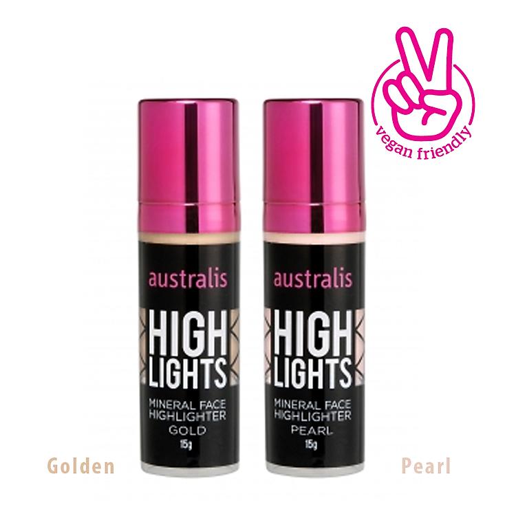Kem Bắt Sáng Dạng Lỏng Pearl Mineral Face Highlighter Australis Úc 15g 5