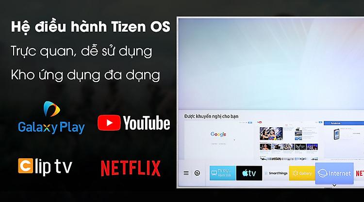 Smart Tivi QLED Samsung 4K 55 inch QA55Q65R - Tizen OS