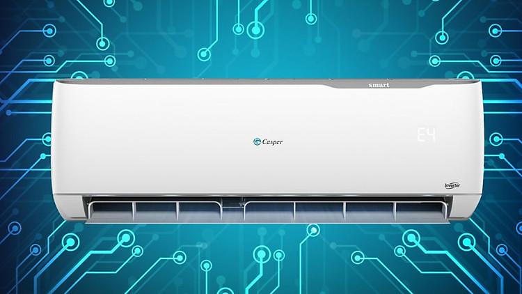 Máy lạnh - điều hòa Casper Inverter 2 chiều 2 HP GH-12TL22 máy tự động thông báo lỗi tiện lợi cho người sử dụng
