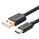Cáp USB 2.0 Type A To USB 3.1 Type-C Ugreen US141 30161 (2m) - Đen - Hàng Chính Hãng