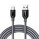 Dây Cáp Sạc USB Type-C Anker Powerline+ 1.8m - A81690A1 (Xám) - Hàng Chính Hãng