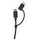 Dây Cáp 2 In 1 Type-C Và Micro-USB Energizer C11UBX2CFBK4 - Hàng Chính Hãng