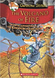 Geronimo Stilton And The Kingdom Of Fantasy 5: The Volcano Of Fire (HC) - Hardcover