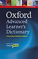 Oxford Advanced Learner's Dictionary: International Student's Edition and CD-ROM with Oxford iWriter