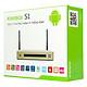 Android TV Box Kiwibox S1 - Vàng - Chính Hãng