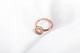 Nhẫn vàng hồng nữ cao cấp DOJI 14K 0819R-NAL630