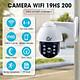 Camera IP - Camera Wifi CareCam 19HS-200W Ngoài Trời Đàm Thoại 2 Chiều 2.0Mpx Xoay 360 Độ Kèm Thẻ Nhớ 32Gb Hàng Chính Hãng