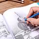 Bộ Bút Chì Vẽ Chuyên Nghiệp H&B Có Túi Đựng (35 Cái)