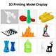 PLA 3D Printer Filament No Mess No Clogging Printing Consumables Dimensional Accuracy +/- 0.05 1.75mm Diameter