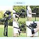 Đế Kẹp Có Lỗ Ốc 1/4 3/8 Inch Kèm Dây Đeo DF DIGITALFOTO SPIDER Cho Gậy Chống Rung Ronin S Zhiyun Crane 2 Đen