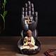 Combo Thác khói trầm hương để bàn tặng 3 nụ trầm - Thủ Ấn Phật Tổ Như Lai