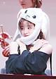 Nón Tai Thỏ Kpop Điều Khiển Hai Tai Cùng Các Mems BTS -Blackpink - Màu Hồng